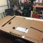 Teardrop trailer build begins