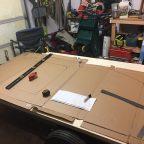 Teardrop trailer build begins